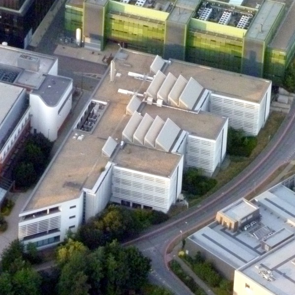 Richard Doll Building from the air