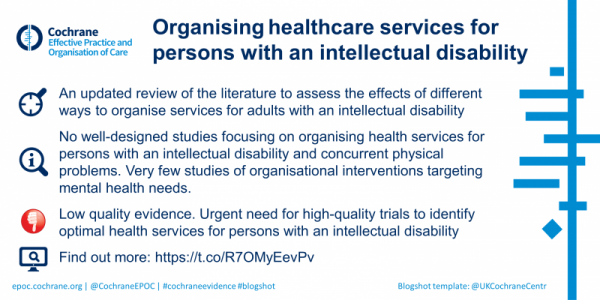 Healthcare intellectual disability