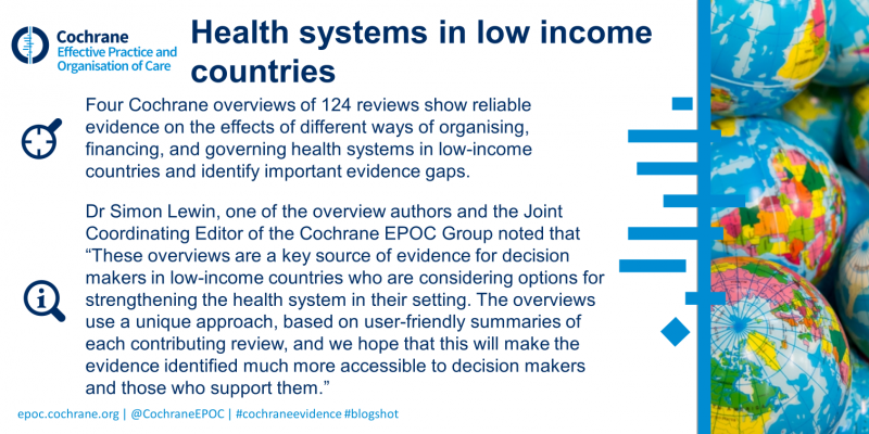 Health systems overviews blogshot